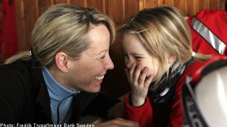 Swedish mums seek more kids time: study
