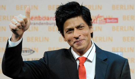 Shah Rukh Khan brings Bollywood to Berlin