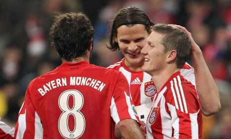 Schweinsteiger puts Bayern Munich into third round of German Cup