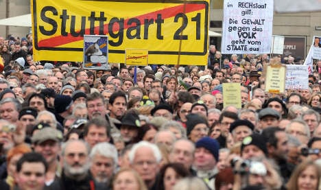 Baden–Württemberg rejects referendum on Stuttgart 21