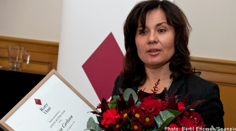 Pharmacy head wins 'top female executive' award