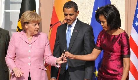 Merkel no longer world's most powerful woman