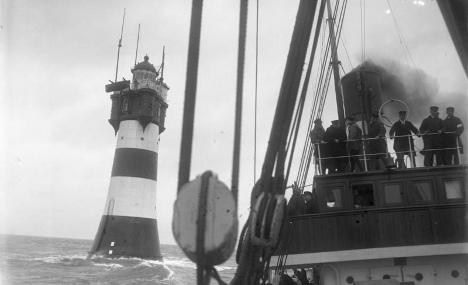 Iconic lighthouse turned 'lonely hotel' celebrates 125 years