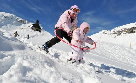 Zugspitze kicks off German ski season