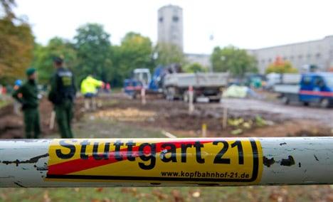 State justice minister calls Stuttgart rail protestors 'spoiled'