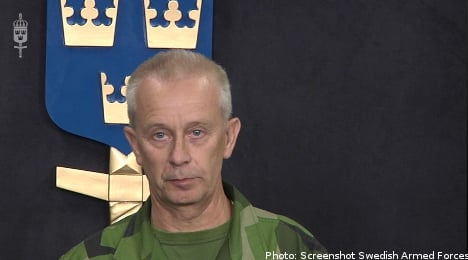 Swedish forces present report on Afghanistan