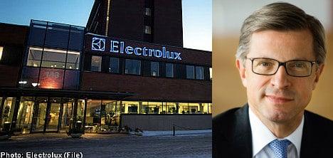 Electrolux CEO upbeat despite profits fall