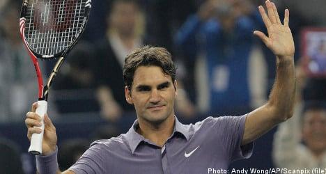 Federer makes returns to ATP's Stockholm Open