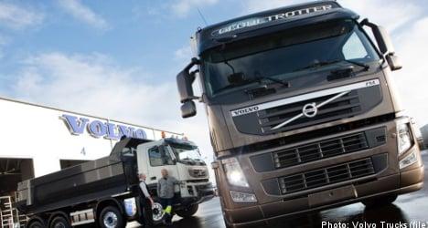 Profits at truckmaker Volvo beat expectations