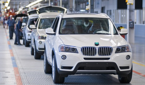 BMW increases investment in US plant