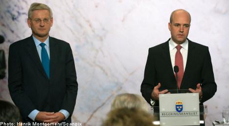 Swedish leaders see unity on Afghanistan