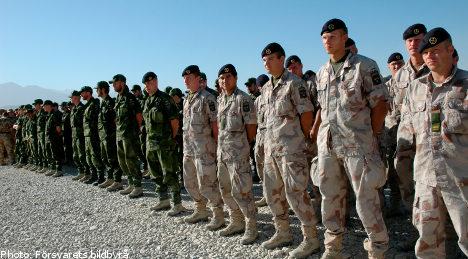 Dead Swede returns to Afghanistan base