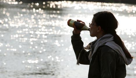 Binge drinking worse among girls