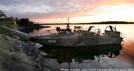 Swedish combat boats loaned overseas