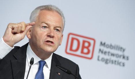 Bahn CEO hits back at Stuttgart 21 opposition