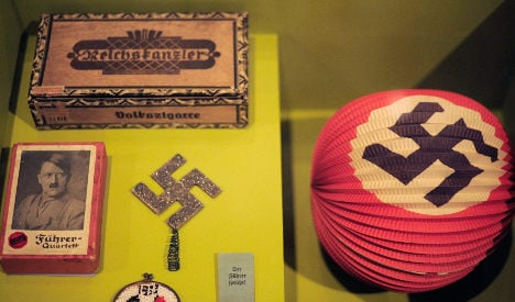 Exhibition breaks with German Hitler taboos