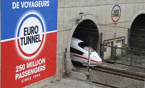 ICE train makes first Chunnel test trip