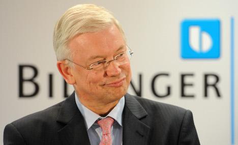 Roland Koch named CEO of Bilfinger Berger