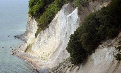 Rügen loses huge chunk of national park coastline in slide