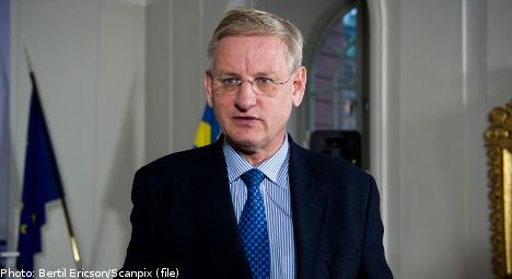 Bildt: North Korea attack 'very worrying'