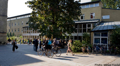 Swedish universities suffer enrollment drop