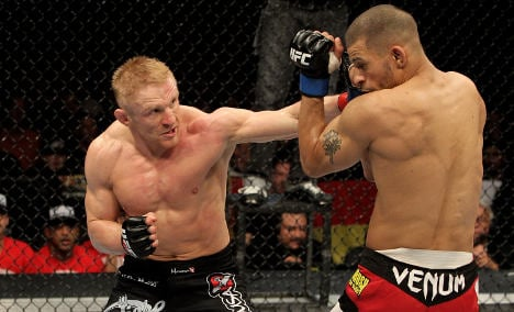 UFC hopes homegrown fighters will convince sceptical Germans