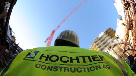 Regulators approve takeover bid for Hochtief