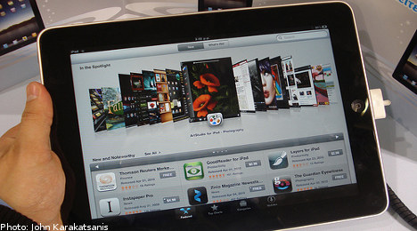 Tablet PC tops Swedes' Christmas gift lists