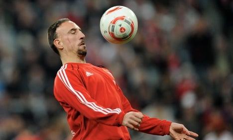 Bayern Munich coach slams Ribery's lazy recovery