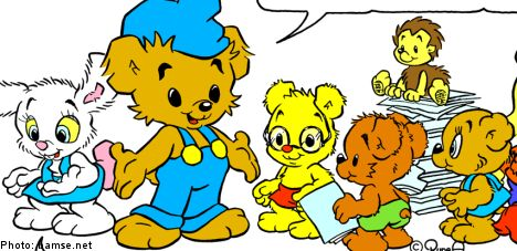 Sweden enlists cartoon bear to help asylum seeking children