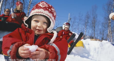 Yes, I can dress my kids for the Swedish weather