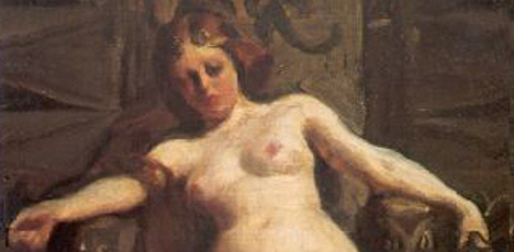 Stolen Swedish painting up for auction in London