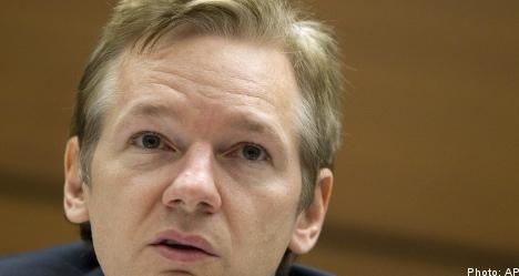 Arrest warrant issued for WikiLeaks founder