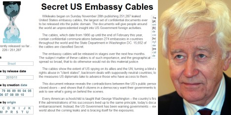 Swedish diplomat: new WikiLeaks 'regrettable'