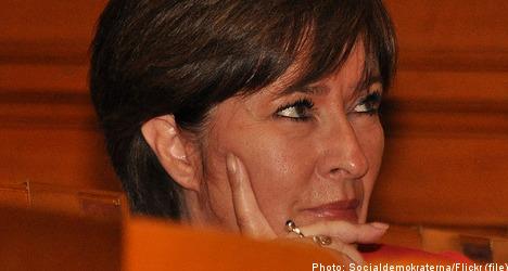 Social Democrats face chaos as Sahlin departs
