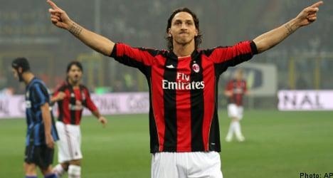 Zlatan sinks former club Inter in Milan derby win