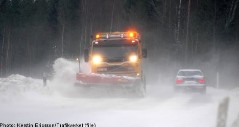 Transport agency calls for caution after snow