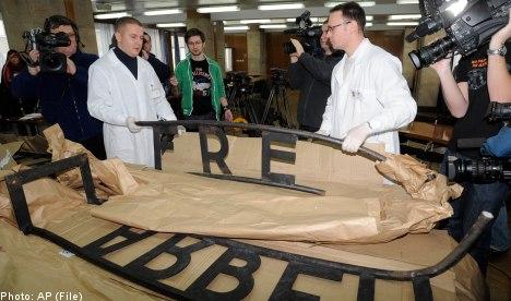 Swede strikes plea deal for Auschwitz theft