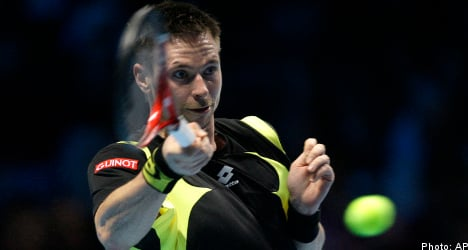 Söderling suffers loss at ATP World Finals