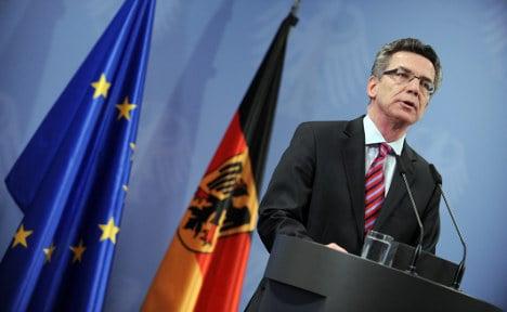 De Maizière warns of imminent terror attacks