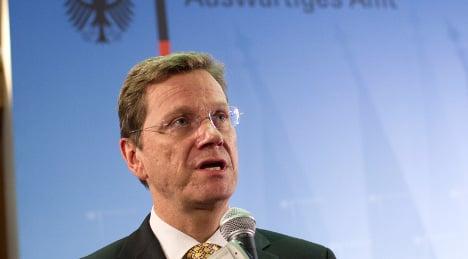 Westerwelle confirms 2012 as Afghan withdrawal target