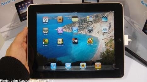iPad set to hit Swedish shelves on Tuesday