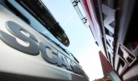 Scania eyes merger with MAN