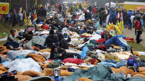Body of anti-nuclear protestor found in stream