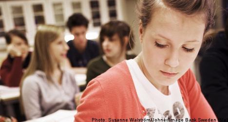 Swedish pupils slide in new global ranking