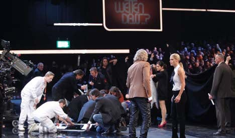 ZDF promises better safety after show mishap