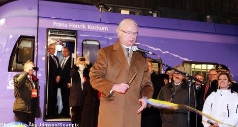 Swedish King opens new Malmö City Tunnel