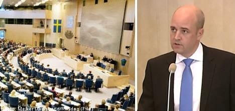 Reinfeldt dealt first Riksdag vote defeat