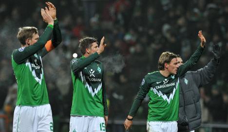 Werder hammer lacklustre Inter but exit Champions League