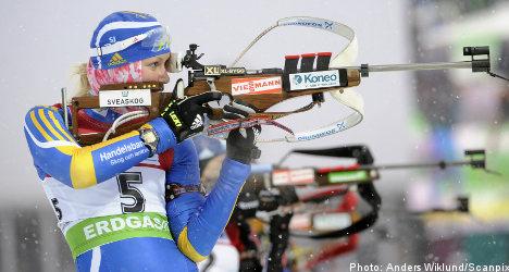 Sweden's Ekholm third in biathlon World Cup event